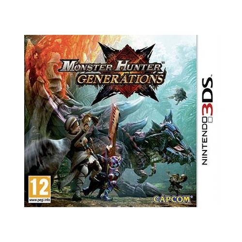 Monster Hunter Generations USADO Nintendo 3DS