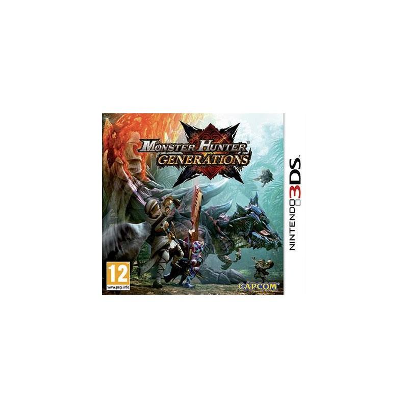 Monster Hunter Generations Nintendo 3DS