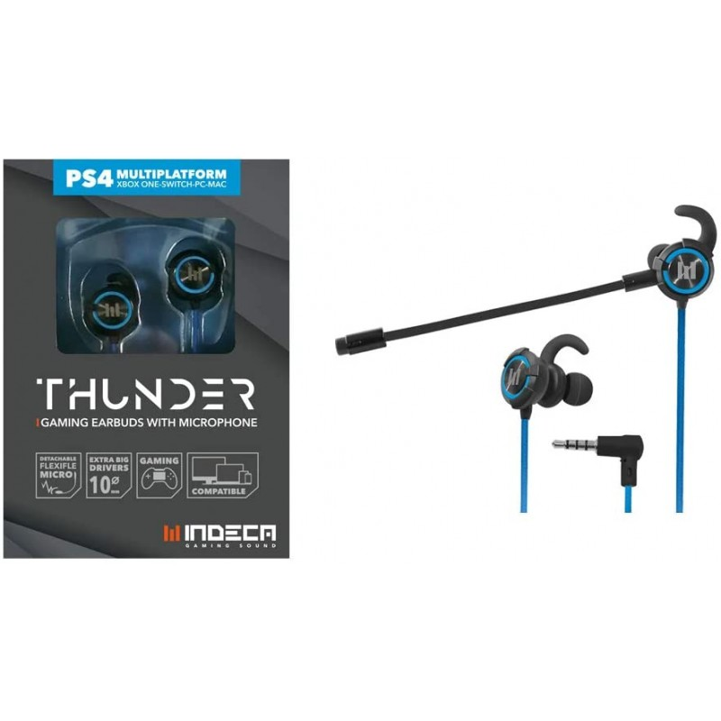Auriculares Gaming Indeca Thunder