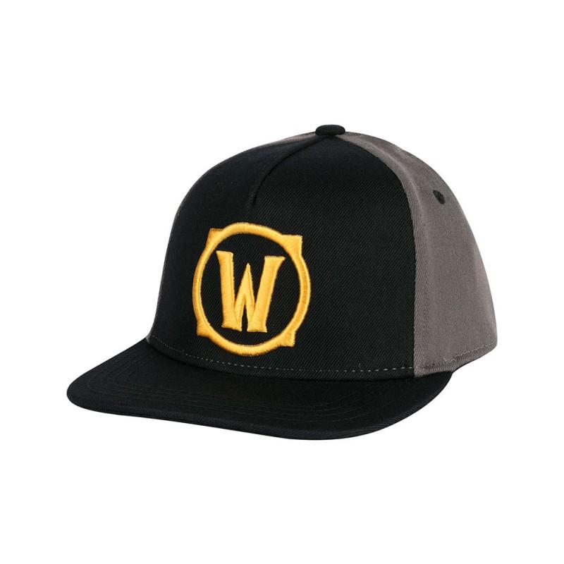 Boné Warcraft Logo Dourado