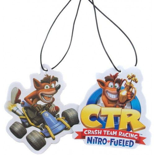 Ambientador Crash Team Racing