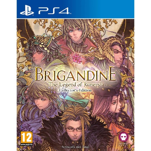 Brigandine The Legend of Runersia Collector's Edition PS4