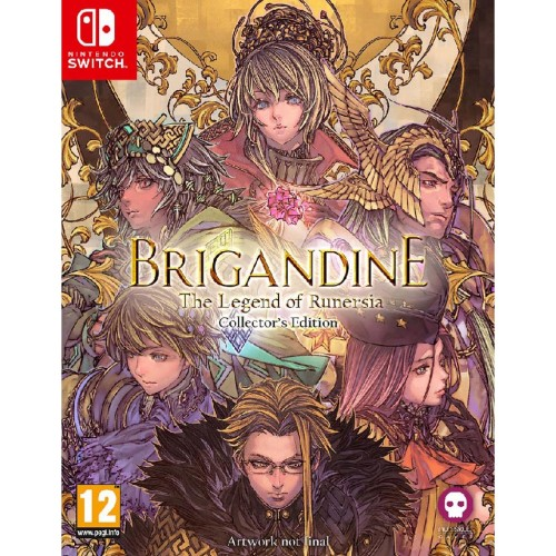 Brigandine The Legend of Runersia Collector's Edition Nintendo Switch