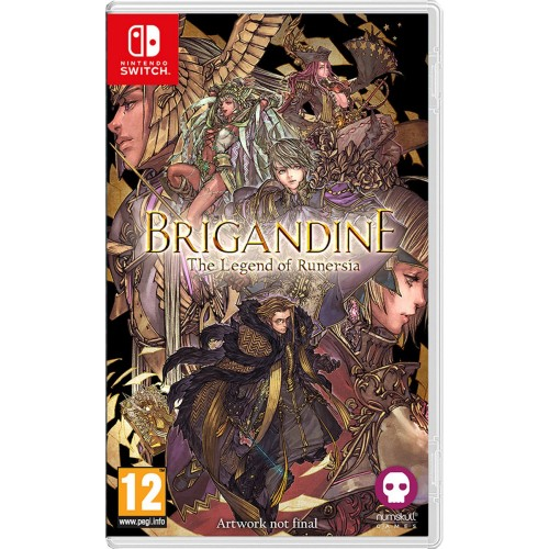 Brigandine The Legend of Runersia Nintendo Switch