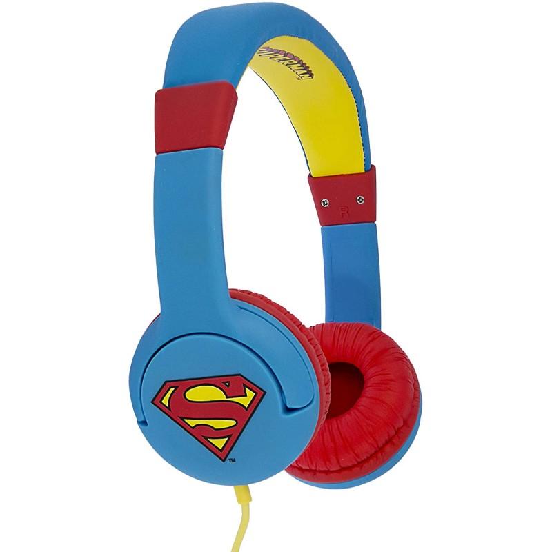 Auscultador OTL Superman Man of Steel
