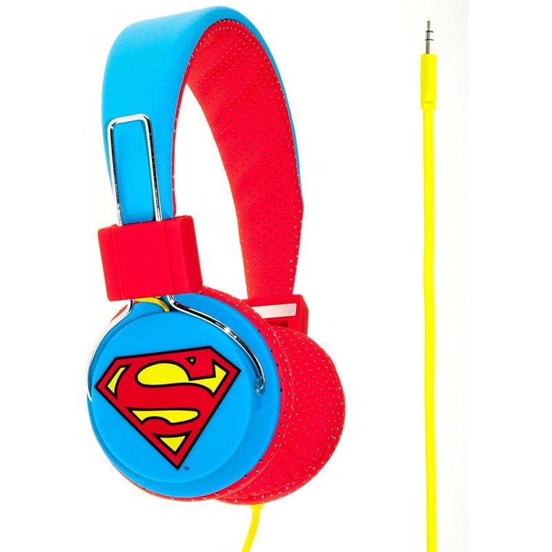 Auscultador OTL Superman Logo