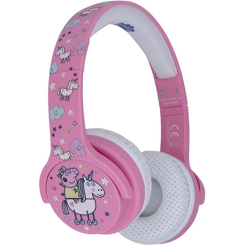 Auscultador OTL Bluetooth Peppa Pig Unicornio