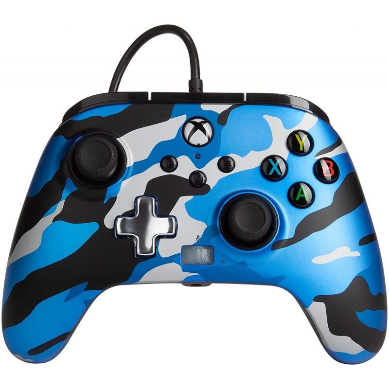 Comando PowerA Metallic Camo Blue Xbox One, Xbox Serie X & PC