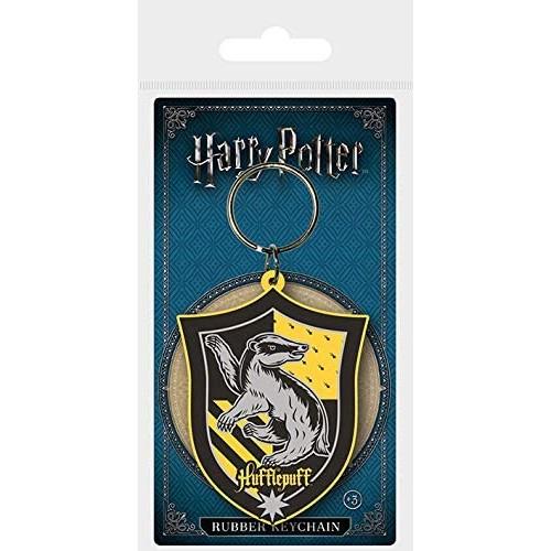 Porta Chaves Harry Potter Hufflepuff (Borracha)