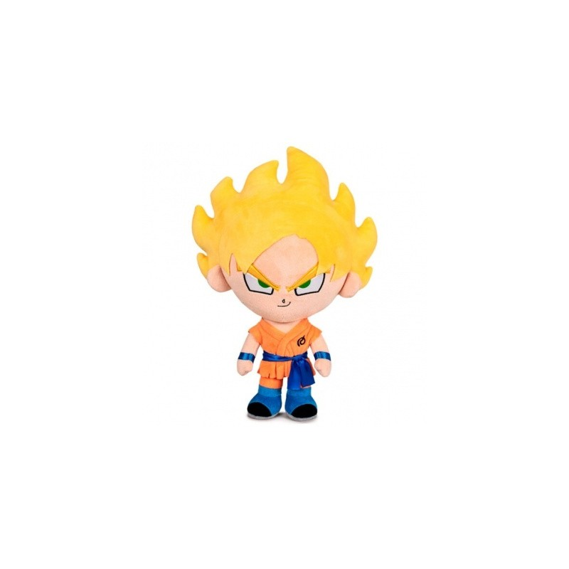 Peluche Dragon Ball Super Saiyan Goku 32cm