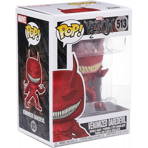 Figura Funko Pop Marvel Venom Venomized Daredevil 513