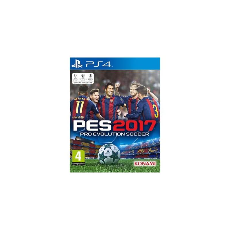 Pro Evolution Soccer 2017 PES USADO PS4