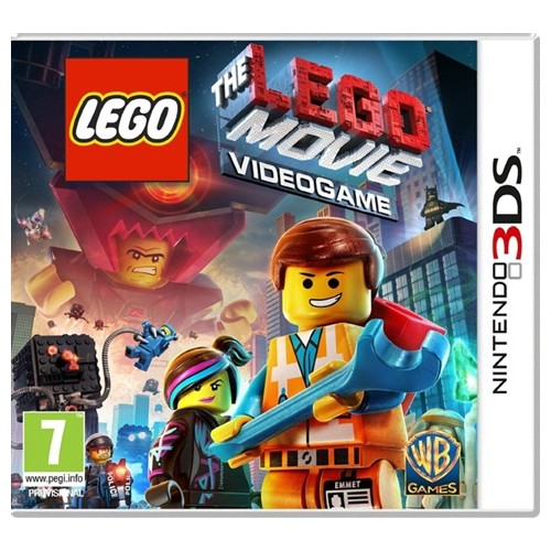 The Lego Movie Videogame USADO Nintendo 3DS