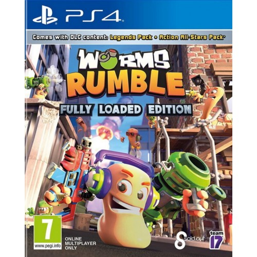 Worms Rumble Fully Loaded Edition PS4 (Disponível 18/06/2021)