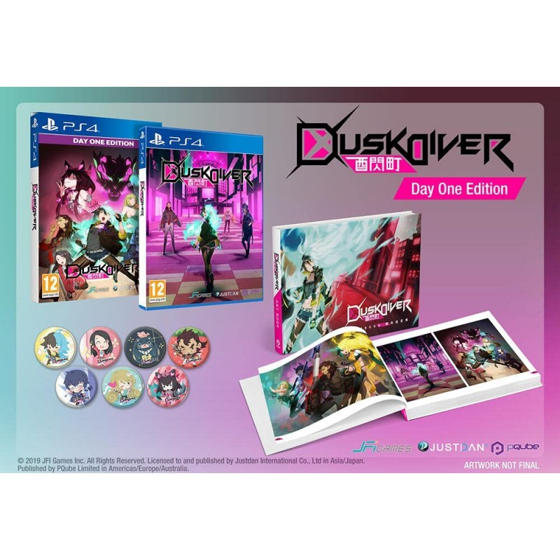 Dusk Diver Day One Edition PS4