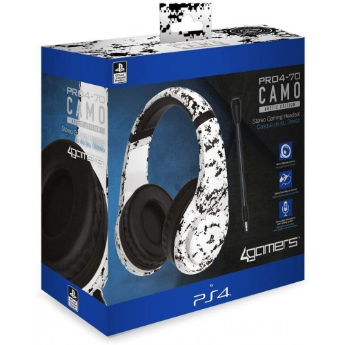 Headset 4Gamers 4-70 Artic Camo