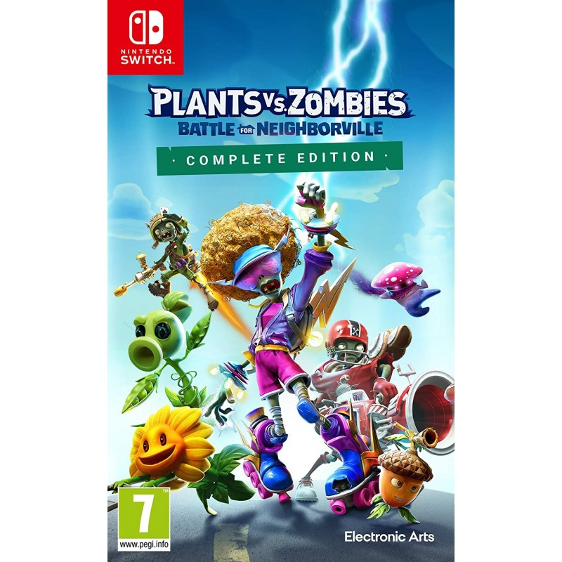 Plants vs. Zombies Battle for Neighborville Complete Edition Nintendo Switch