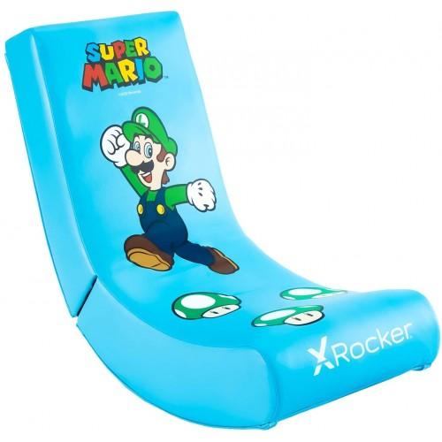 Cadeira X-Rocker Super Mario All-Star Collection Luigi