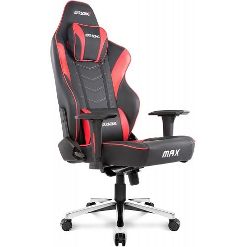 Cadeira Akracing Master Max Preto/Vermelho