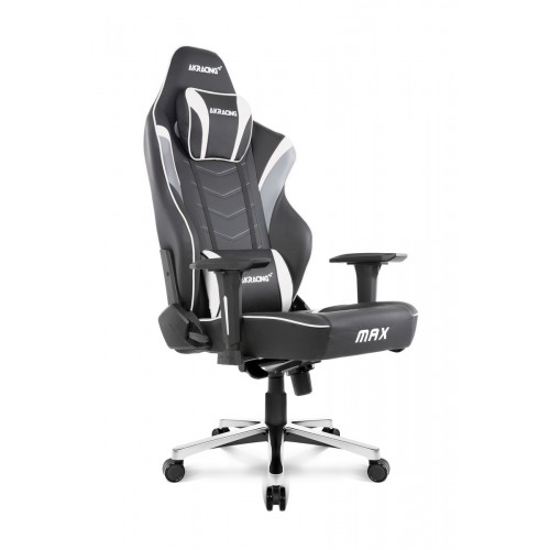 Cadeira Akracing Master Max Preto/Branco