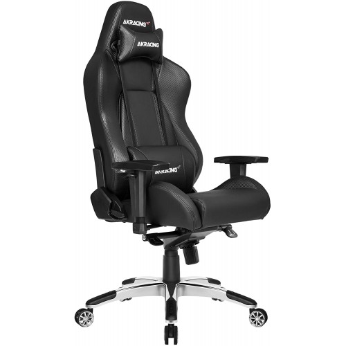Cadeira Akracing Master Premium Preto/Carbono