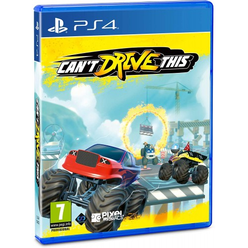 Can't Drive This PS4