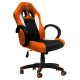 Cadeira Ultimate Gaming Taurus Laranja, Preto e Branco