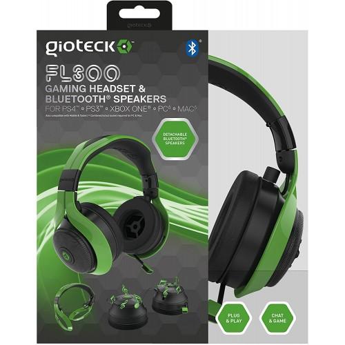 Headset Gioteck FL 300 Bluetooth Multiplataforma