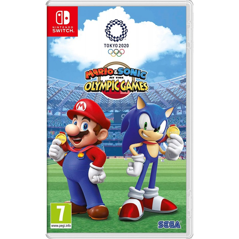 Mario and Sonic at the Olympic Games Tokyo 2020 Nintendo Switch