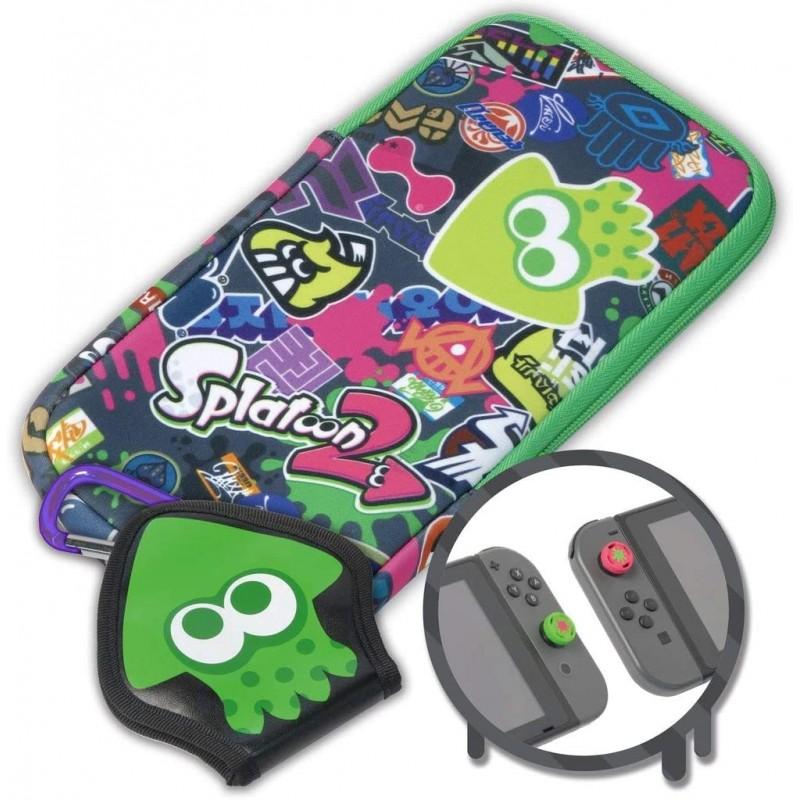 Bolsa Hori Splatoon 2 Splat Pack Nintendo Switch