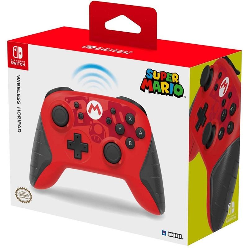 Comando Hori Wireless Horipad Mario Nintendo Switch