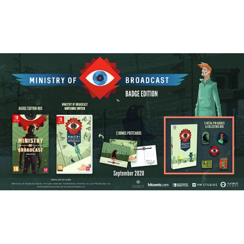 Ministry of Broadcast Collector's Edition Nintendo Switch