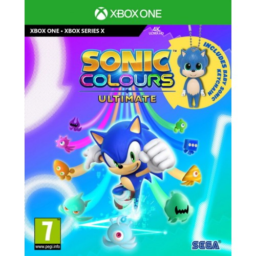 Sonic Colours Ultimate Day One Edition Xbox Series X & Xbox One