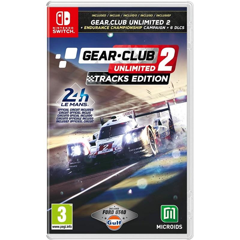 Gear Club Unlimited 2 Tracks Edition Nintendo Switch