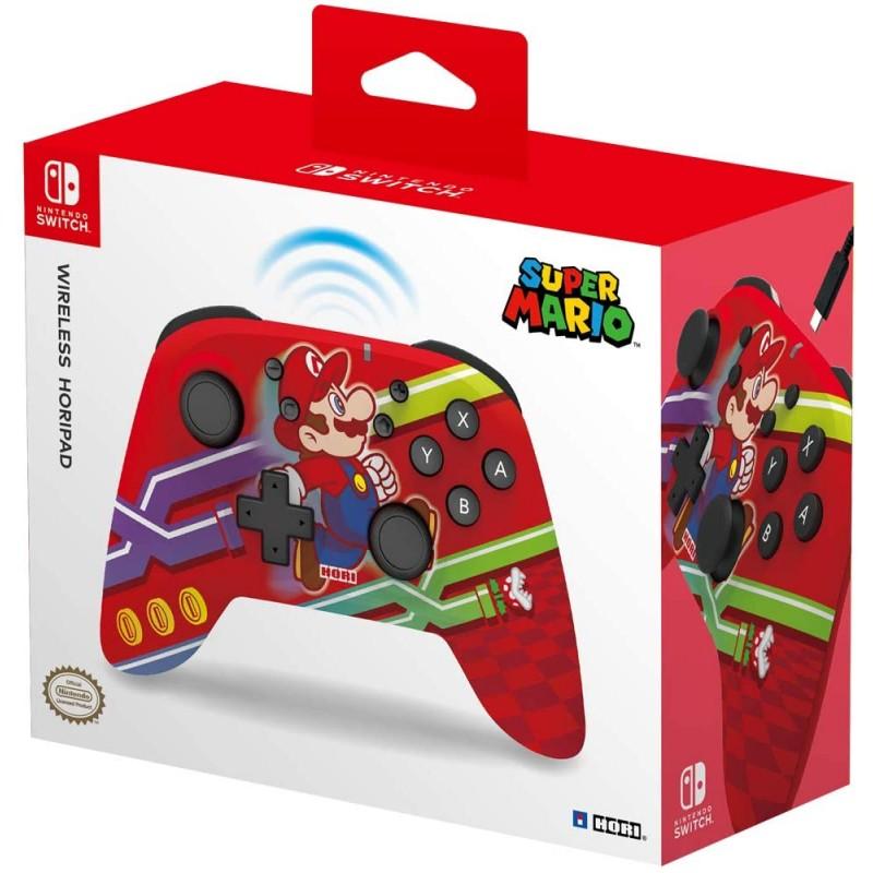 Comando Hori Horipad Wireless Super Mario Nintendo Switch