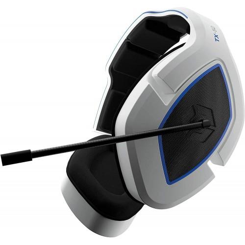 Headset Gioteck TX-50 Branco e Azul