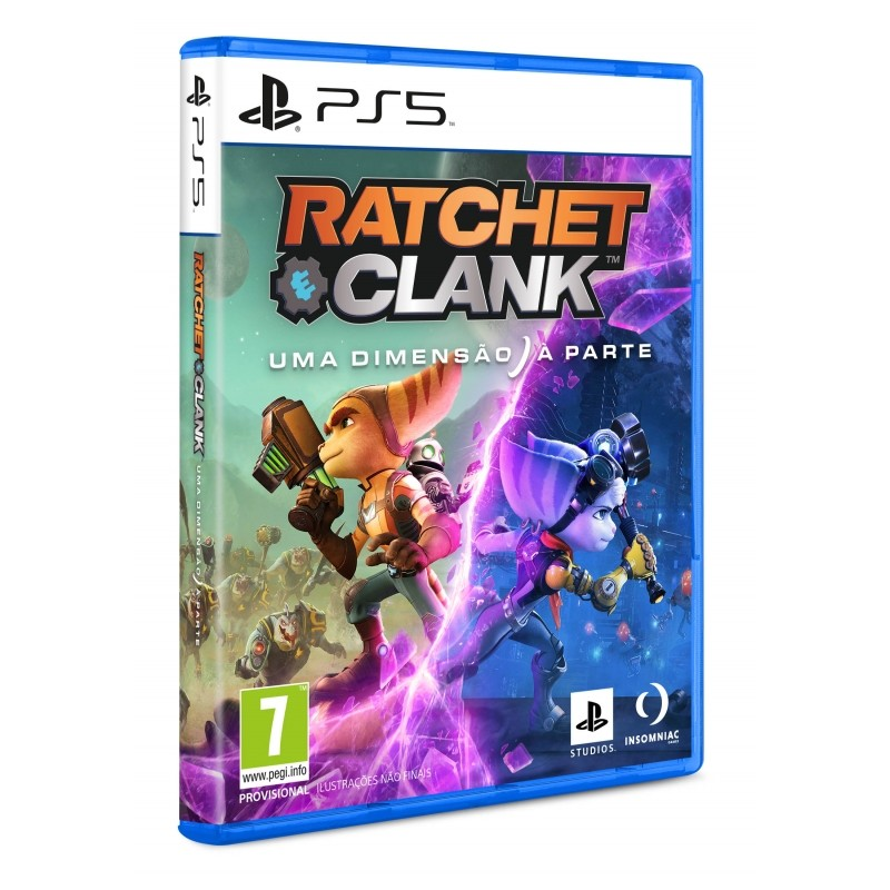 Ratchet & Clank Uma Dimensão à Parte PS5