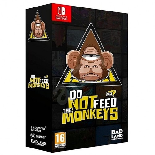 Do not Feed the Monkeys Collector's Edition Nintendo Switch