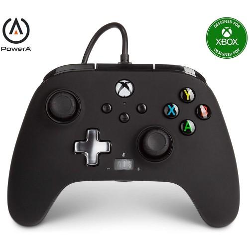 Comando PowerA Black Xbox One, Xbox Serie X/S & PC