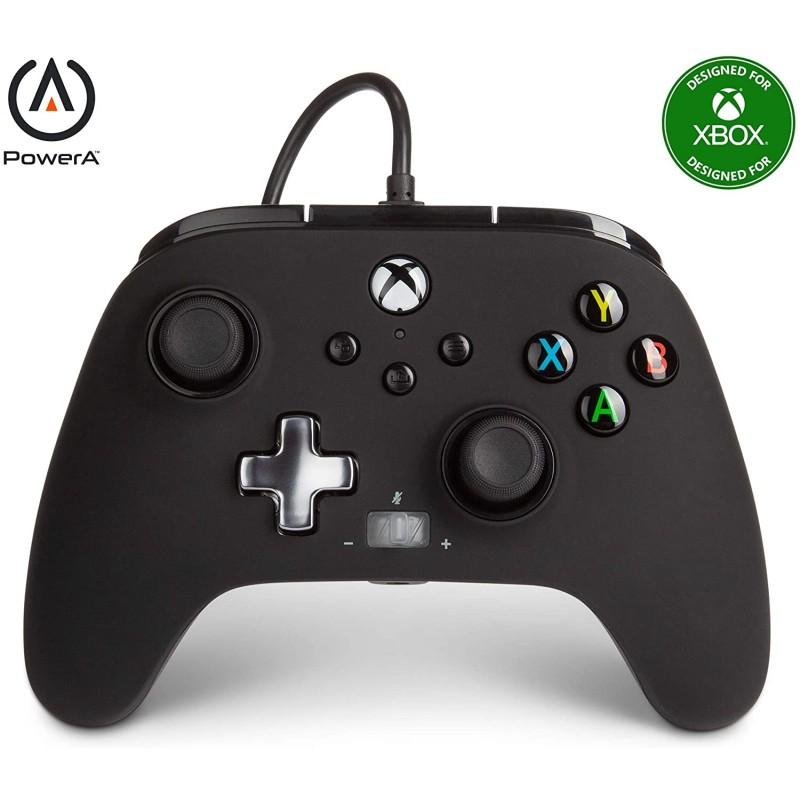Comando PowerA Black Xbox One, Xbox Serie X & PC
