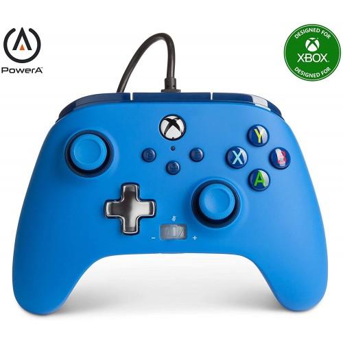 Comando PowerA Bold Colors Blue Xbox One, Xbox Serie X/S & PC