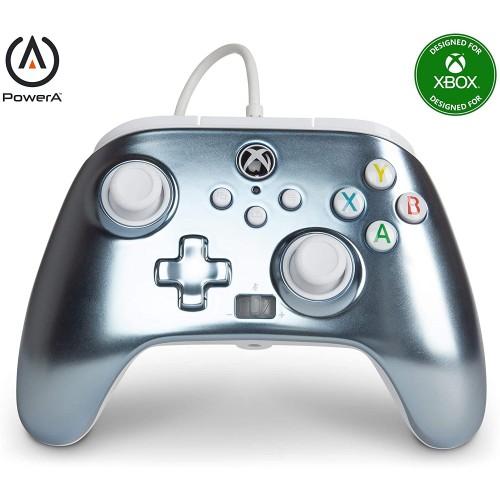 Comando PowerA Metallic Ice Xbox One, Xbox Serie X/S & PC