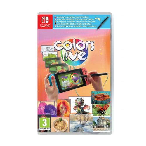 Colors Live! Inclui Caneta Nintendo Switch