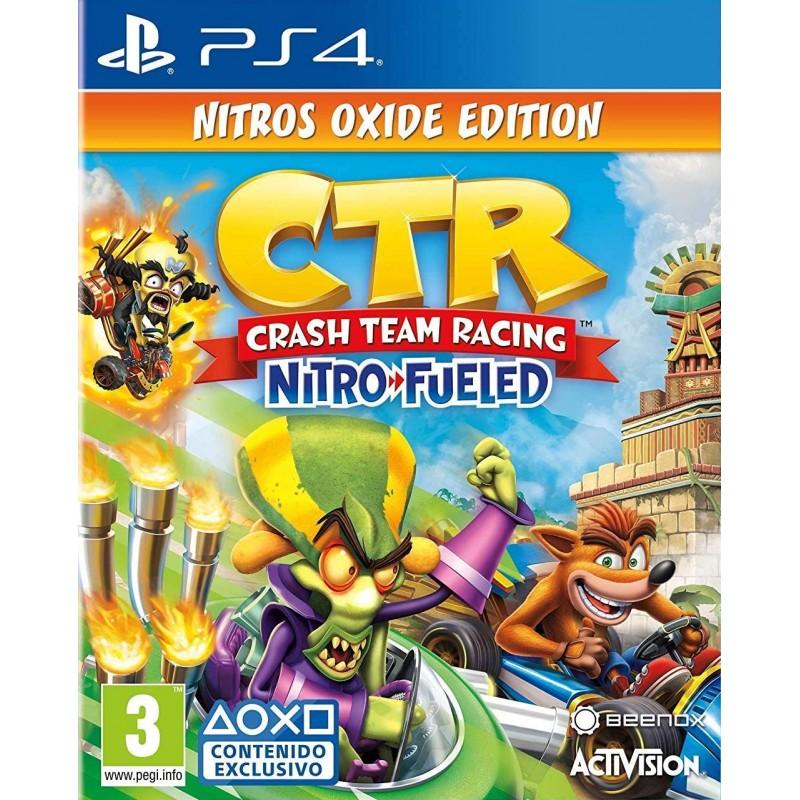 Crash Team Racing Nitro Fueled Nitros Oxide Edition PS4
