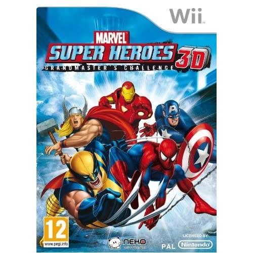 Marvel Super Heroes 3D Grandmaster´s Challenge USADO Wii