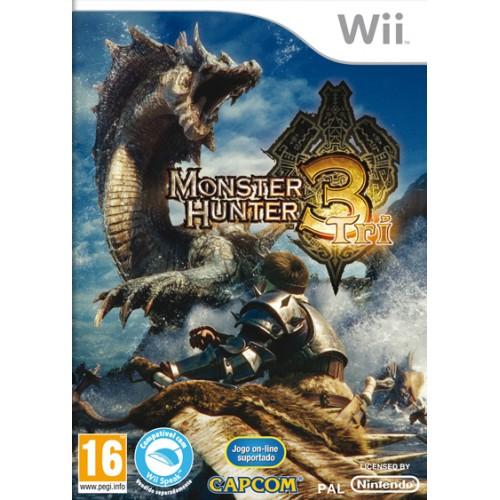Monster Hunter Tri USADO Wii