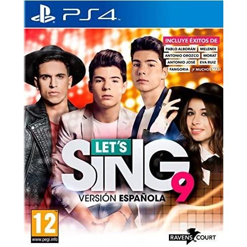 Let's Sing 9 Version Espanola PS4