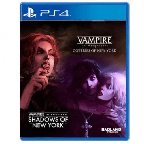 Vampire: The Masquerade - Coteries Of New York & Shadows Of New York PS4 (A Confirmar 2021)