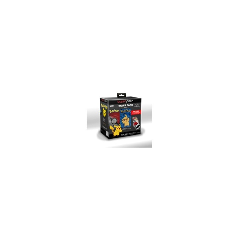 SuperPack Pokemon (Headset + Power Bank)