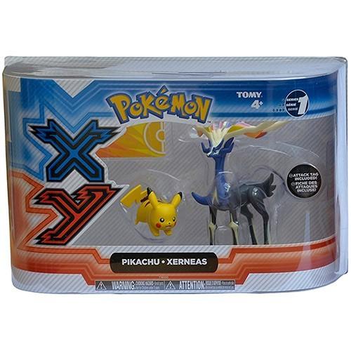 Figura Pokemon Tomy Legendaire Pikachu X&Y Pikachu & Xerneas